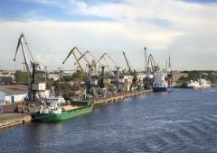 балтика грузовой терминал