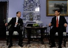 Дмитрий Медведев, Си Цзиньпин, Медведев в Китае
