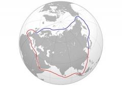 северный морской путь, карта