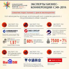 Эксперты бизнес-конференции СЭФ-2014