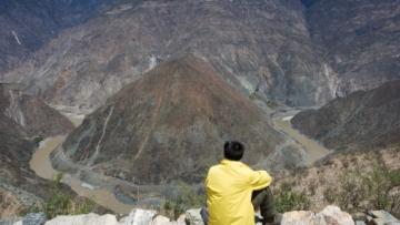 китай, юньнань, деревня, горы, природа
