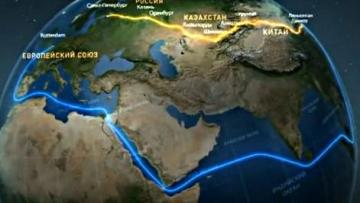 новыый шелковый путь маршрут карта