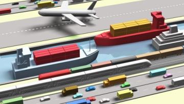 cargo traffic, грузооборот, логистика, logistics