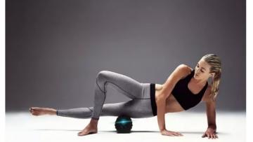 Электрический массажный ролик для тела (electric massage yoga column)